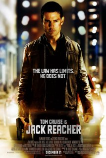 Jack Reacher movie poster.