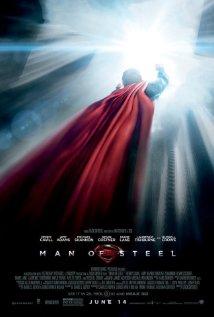 Man of Steel movie poster.