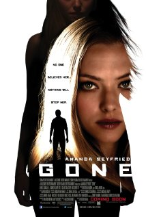 Gone poster (2012)
