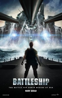 Battleship movie poster.