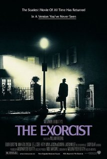 Movie poster of The Exorcist.