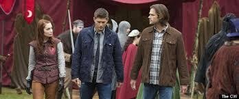 Jensen Ackles and Jared Padalecki from Supernatural.