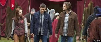 Jensen Ackles and Jared Padalecki from Supernatural.