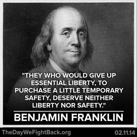 Ben Franklin - Security and Freedom