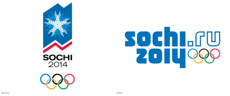 One of the Sochi Winter Olympics 2014 Logo