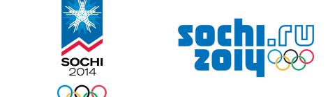 One of the Sochi Winter Olympics 2014 Logo