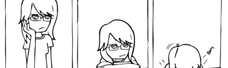 Comic of a headdesk from http://www.atypicallyrelevant.com/wp-content/uploads/2013/01/headdesk.jpg.