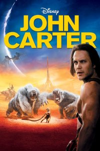 DVD cover of John Carter movie.