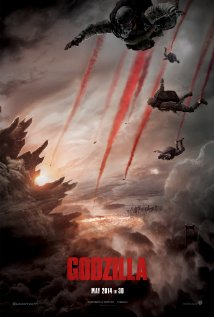 Godzilla 2014 movie poster
