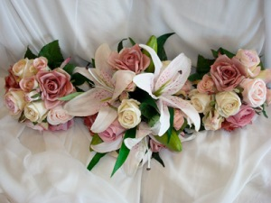 Photo of wedding flowers
