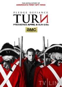 Turn poster for AMC TV