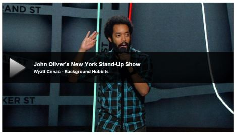 Wyatt Cenac and Background Hobbits