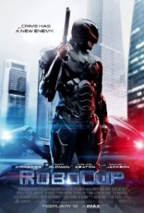 Robocop movie poster from 2014