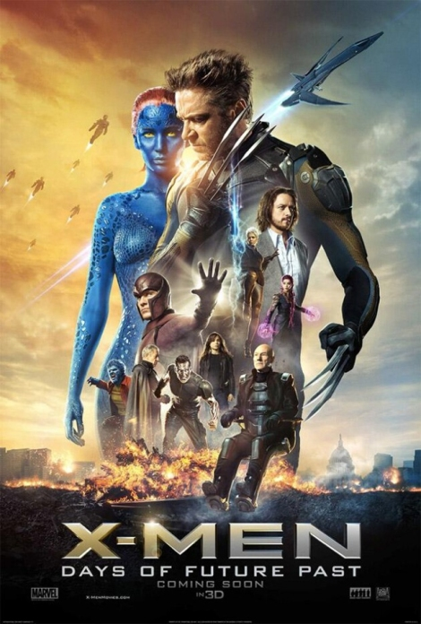 X-Men: Days of Future Past official movie poster