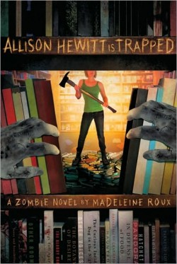 Allison Hewitt is Trapped book cover