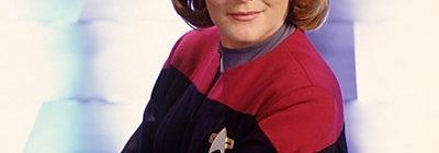 Captain Janeway from Star Trek: Voyager