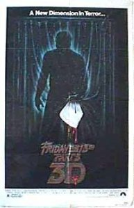 Friday the 13th 3D movie poster