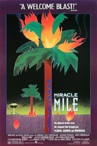 Miracle Mile movie poster