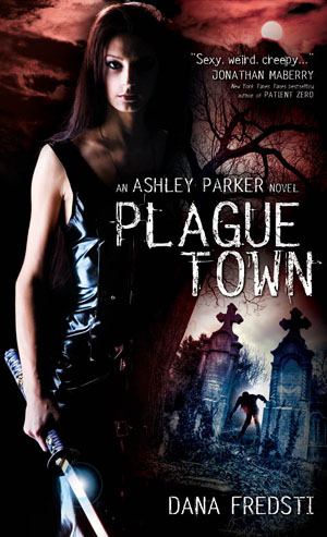 Plague Town book cover