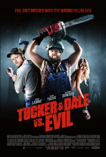 Tucker and Dale vs Evil movie poster.