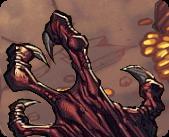 Gen Con Web image of a dragon claw.