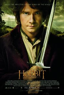 The Hobbit: An Unexpected Journey poster.