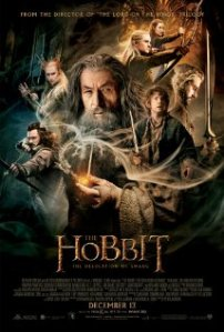 The Hobbit: The Desolation of Smaug movie poster.