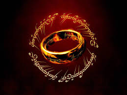 Picture of the One Ring from Lord of the Rings movies.