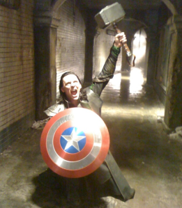 Avengerville Photo: Loki is also a thief.