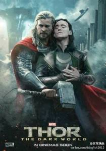 Avengerville Photo: Wrong Thor 2 movie poster.