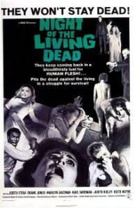 Night of the Living Dead 1968 movie poster.