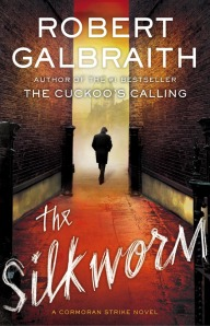 The Silkworm book cover.