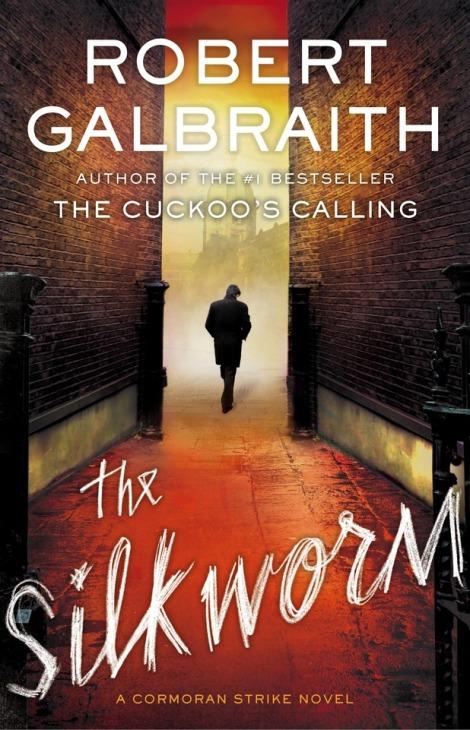 The Silkworm book cover.