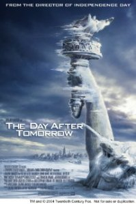 The Day After Tomorrow movie poster
