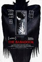 The Babadook movie poster.