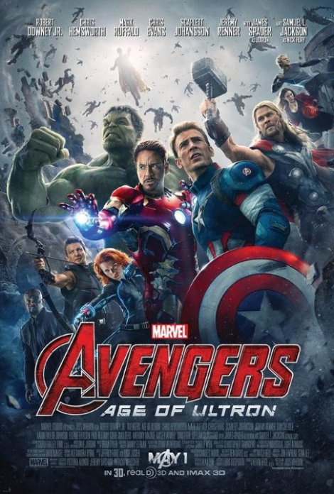 Avengers: Age of Ultron - first movie poster