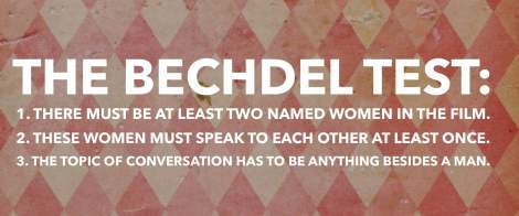 Bechdel Test graphic