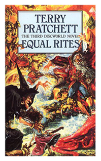 Equal Rites 1987 Book cover