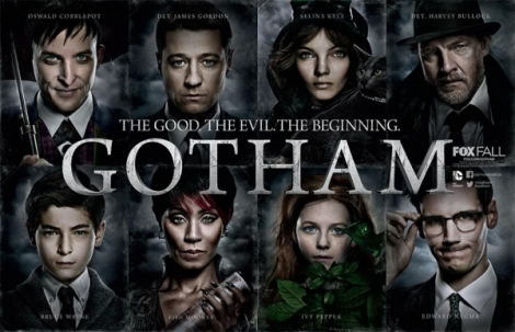 Gotham character beginning posters.