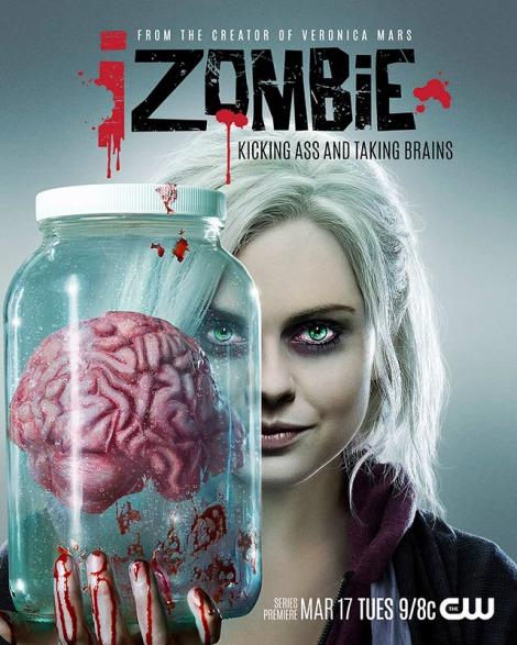 iZombie TV show poster