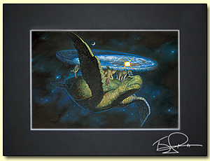Photo of Official picture of A'Tuin by Paul Kidby.