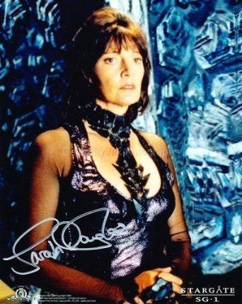 Autographed photo of Garshaw of Belote Played by SARAH DOUGLAS