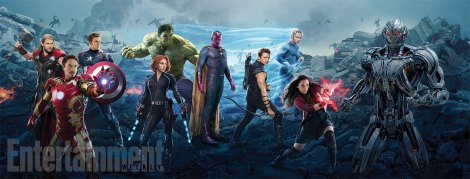 Avengers: Age of Ultron full character graphic