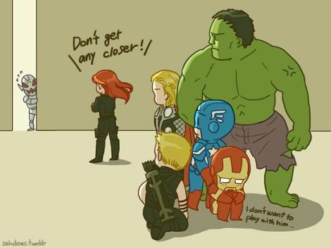 Black Widow PROTECTS so take that Ultron!
