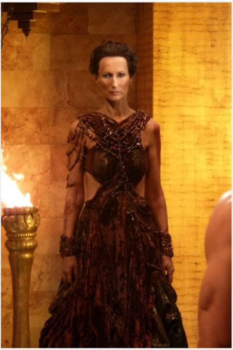 "Matron of Chambers from ""John Carter"" movie. Excellent example of the Barb Harm Observation."