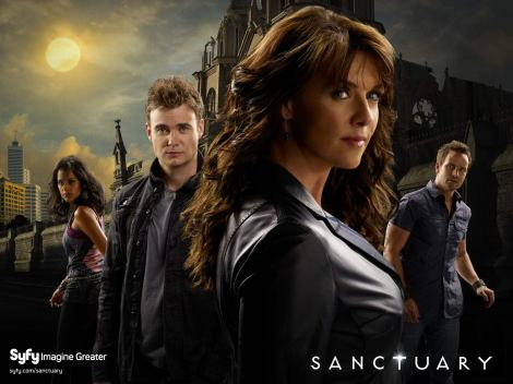 Sanctuary TV series promo poster