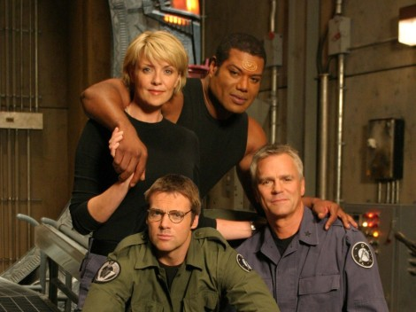 Original SG-1 team - friends