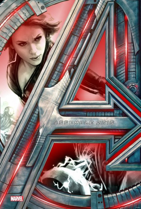 Avengers: Age of Ultron with Black Widow image