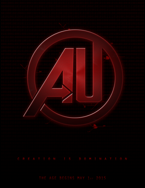 The AU version of the Avengers: Age of Ultron poster.
