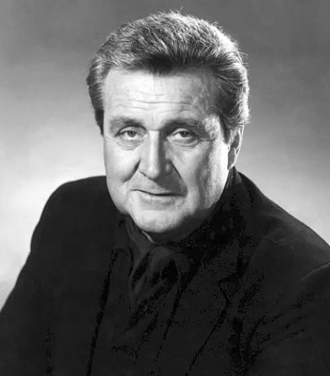 Portrait of actor Patrick Macnee.